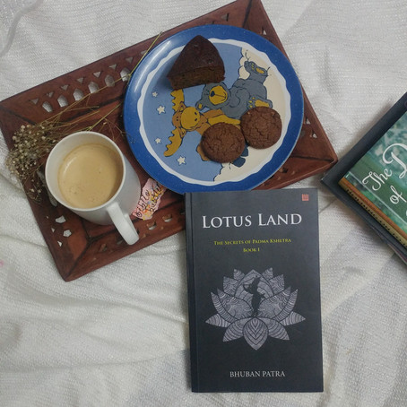 Book Review-Lotus Land : The Secrets Of Padma Kshetra   Priyanshi Borad