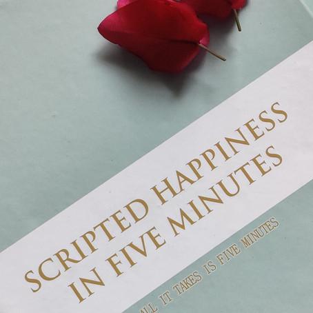 Scripted Happiness Journal| Varsha Bhansali