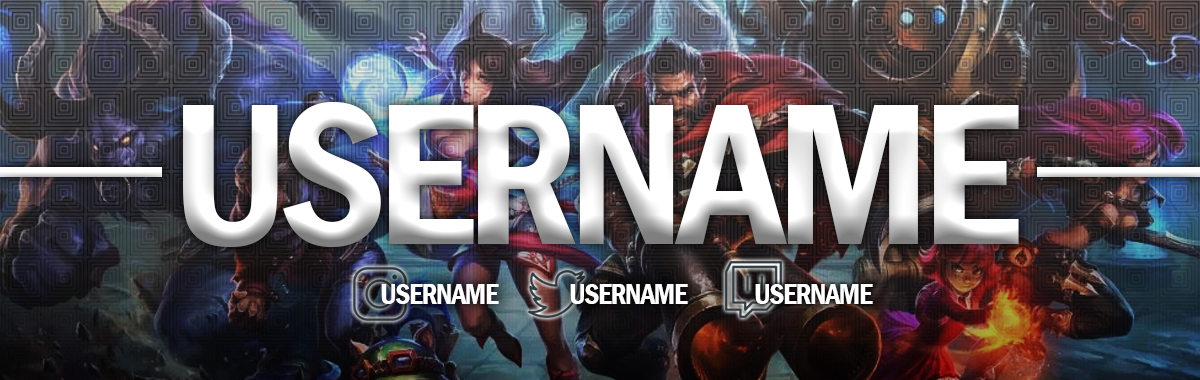 League Of Legends Twitch Banner