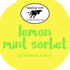 LEMON MINT SORBET