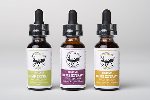 1500mg - Organic CBD Hemp Extract