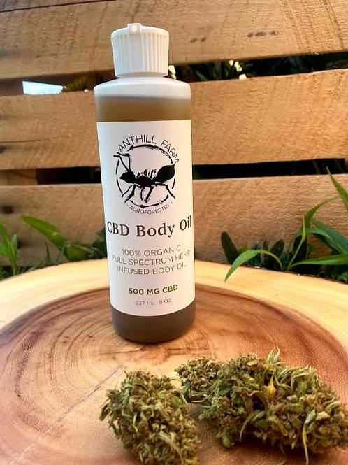 CBD Body Oil 500 mg. scented