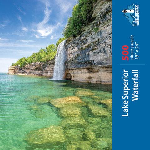 Lake Superior Waterfall Puzzle