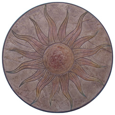 Sun Stamp Medallion