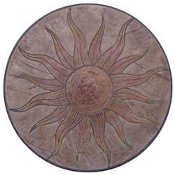Sun Stamp Medallion