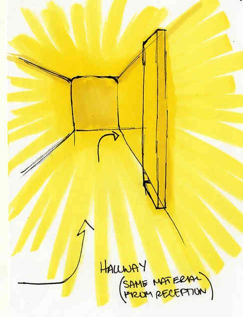 Hallway Sketch | 2014