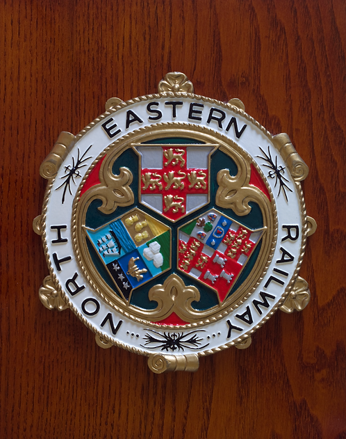 North Eastern Railway plaque