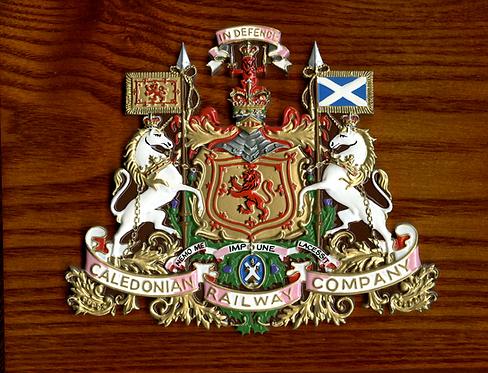 Caledonian Railway plaque