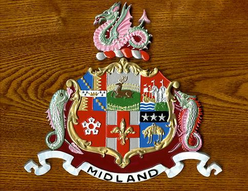Midland Railway plaque