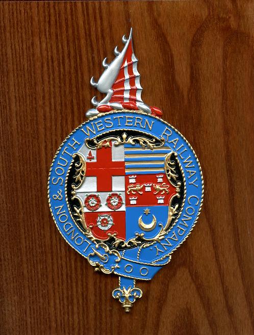 L&SWR plaque