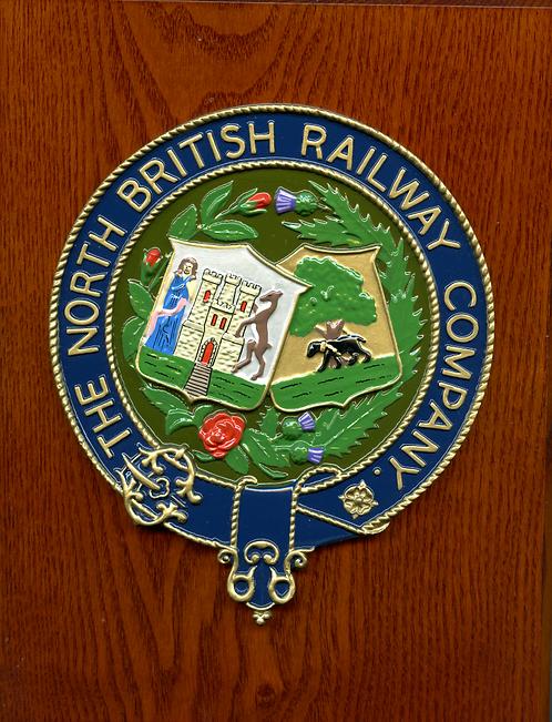 North British Railway plaque