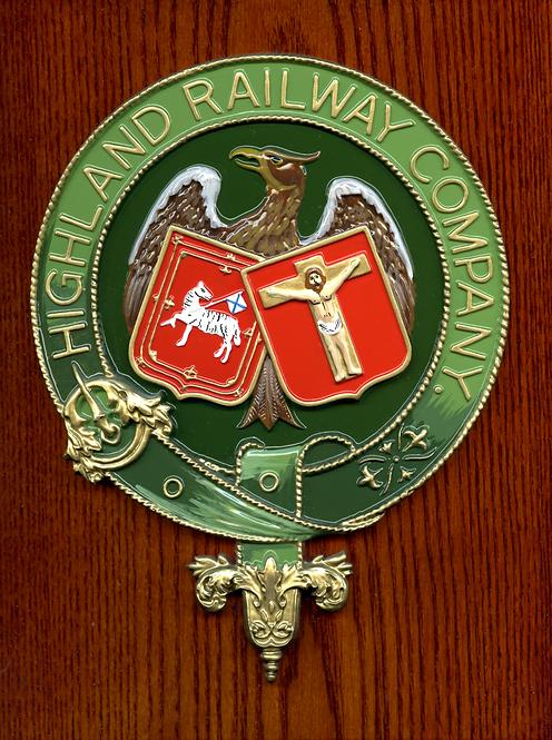 Highland Railway plaque