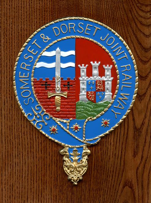 Somerset & Dorset Railway plaque