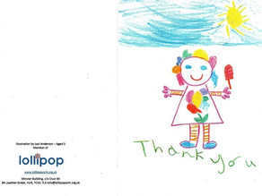 A Card from Lollipop