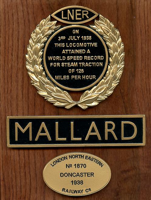 Mallard plaque