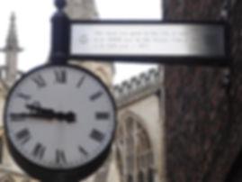 Minster Gates Clock