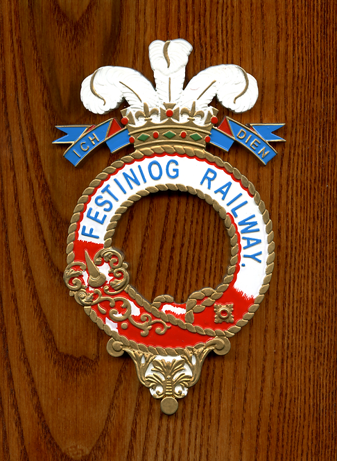 Festiniog Railway plaque
