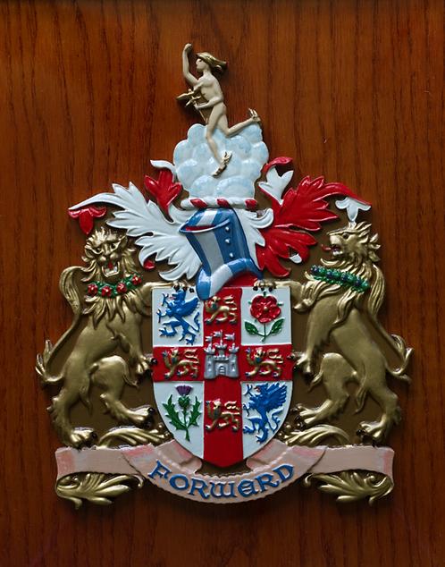 London & NorthEastern plaque