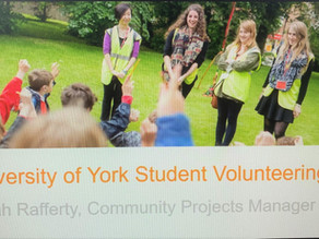 Student Volunteering at UoY
