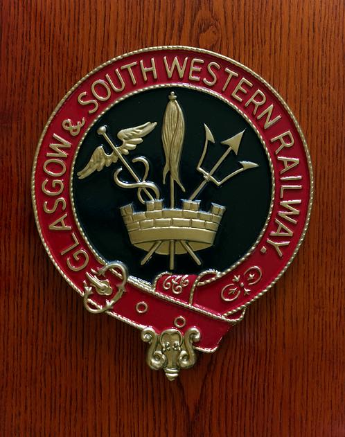 Glasgow & SouthWestern Railway plaque