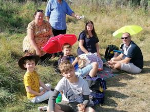 """Families enjoy Rotary tree planting """"tlc"""""""
