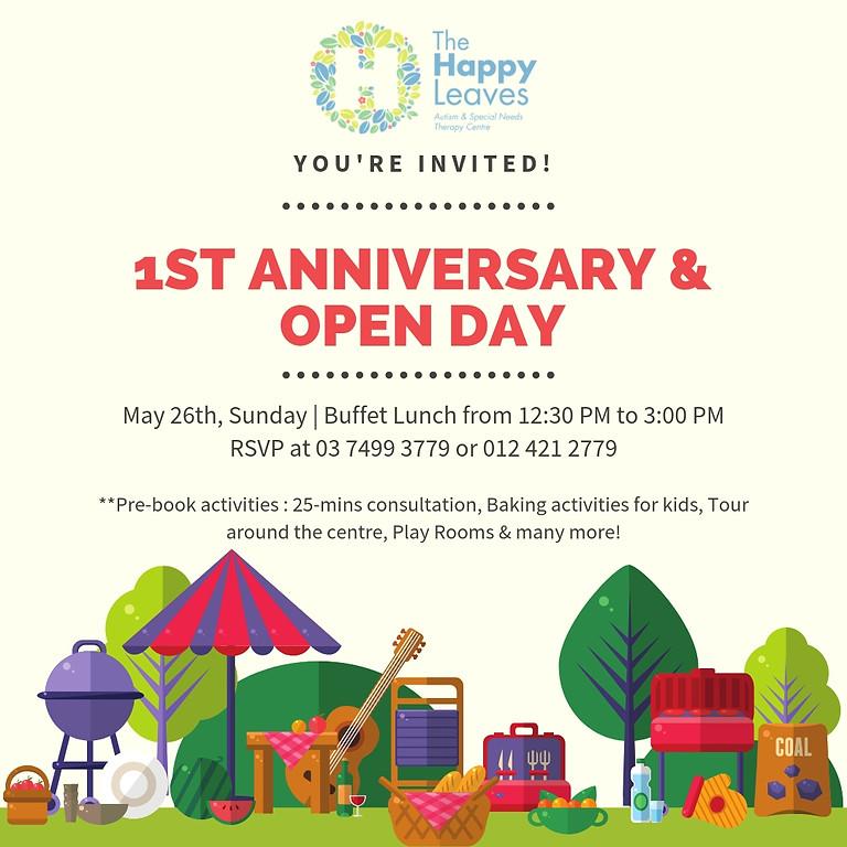 1st Anniversary & Open Day