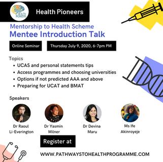 Pathways to health Programme events prog