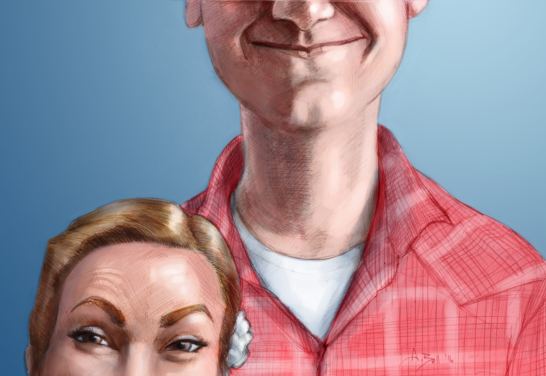 Traditional and Digital Caricature