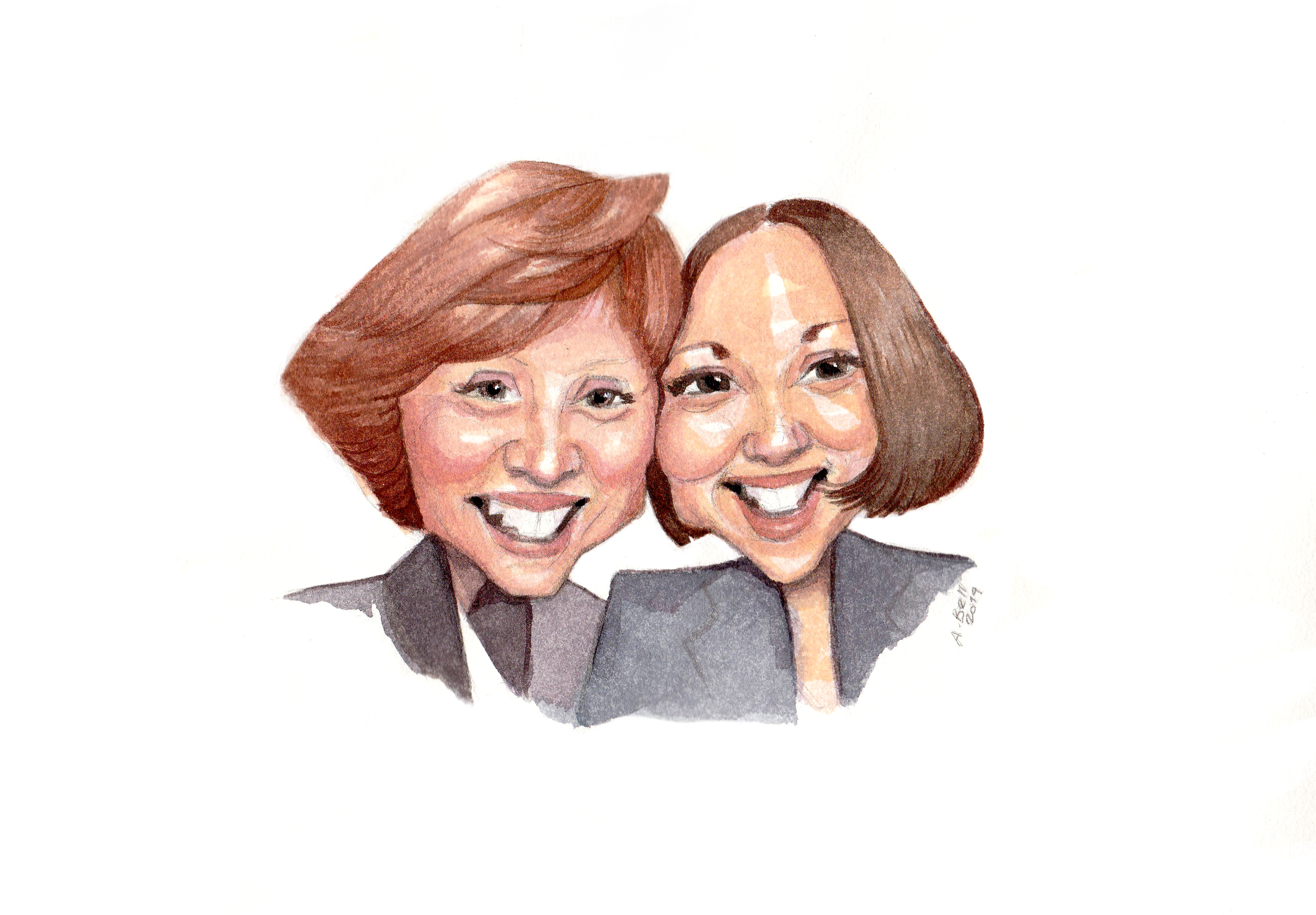 Watercolour Caricature