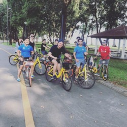 Team Cycling@East Coast Park