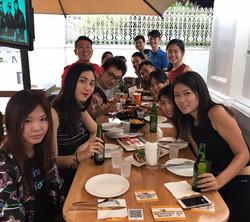 Team Dinner@Timbre