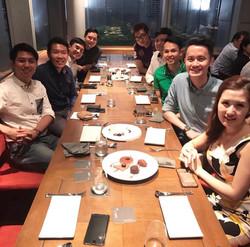 Team Dinner@Level 33