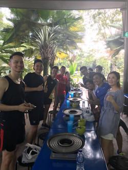 Team Dinner@Satay By The Bay