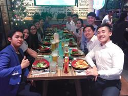 Team Dinner@The Chop House