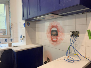 """""""YOUNIVERSE"""" Kitchen in progress"""