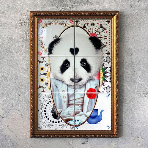 THE BIG PANDA PORTRAIT