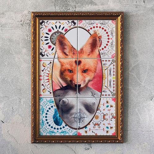 LADY FOX PORTRAIT