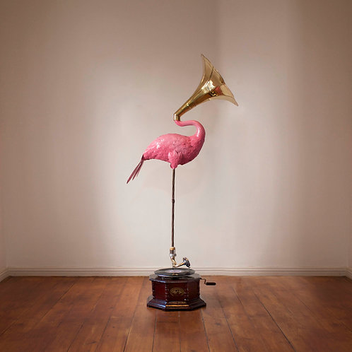SOUND OF FLAMINGO | PINK 1/1