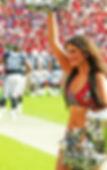 NFL Cheerleader Lauren Sierra