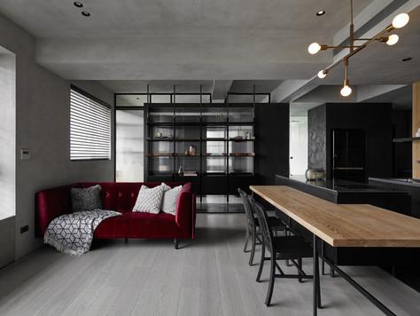 INTERJERO APŽVALGA • sodrių tonų apartamentai