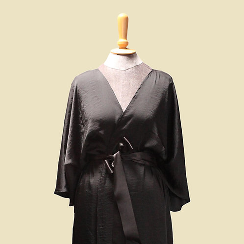 Screen Queen Gown - Noir
