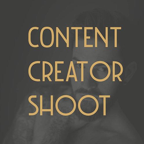 CONTENT CREATOR SHOOT