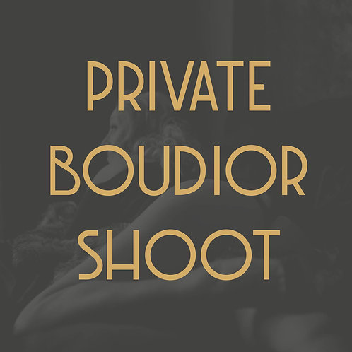 Private Boudoir Photoshoot