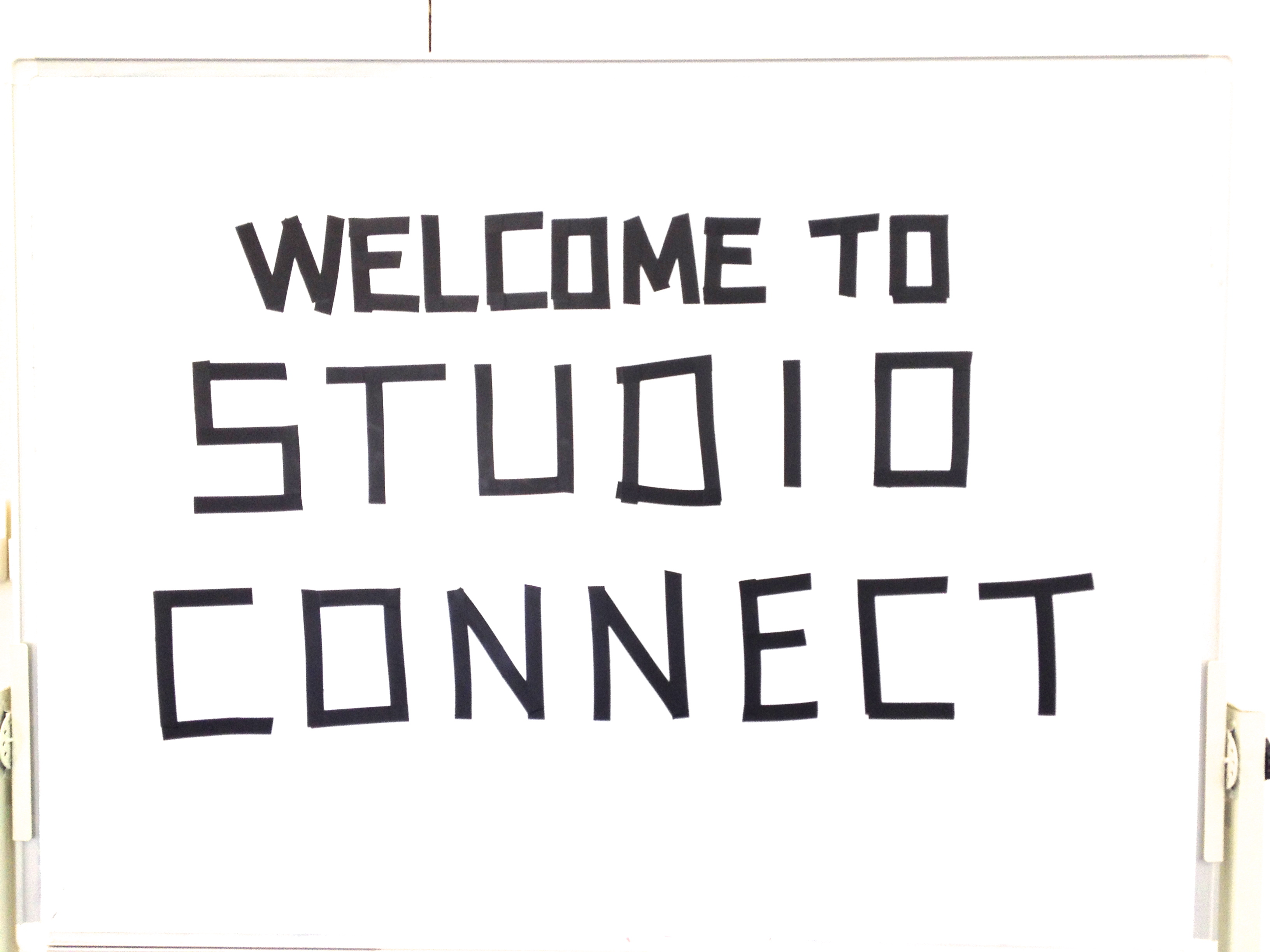 Studio Connect Sign