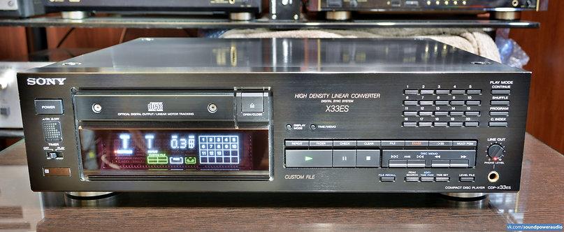 SONY CD– X33ES. Проигрыватель CD бывший в употреблении.  Универсальный пульт ДУ.