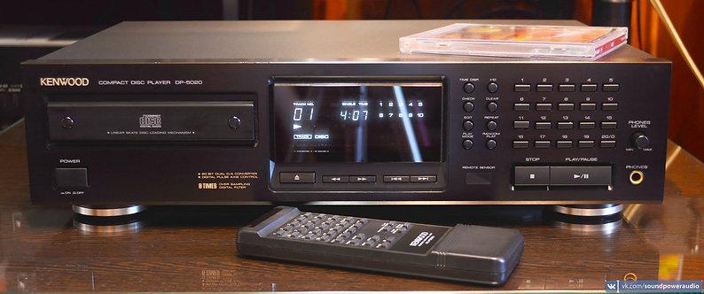 Kenwood DP-5020 на 2х мультибитных PCM1701P