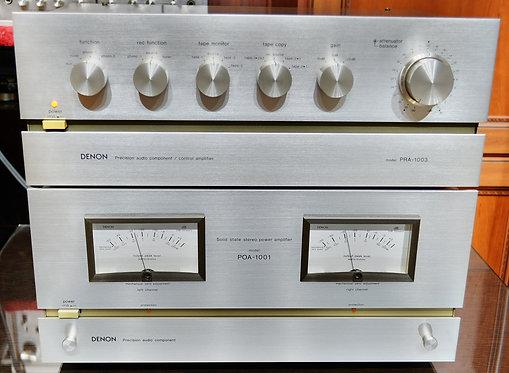 Комплект Denon PRA-1003 и POA-1001