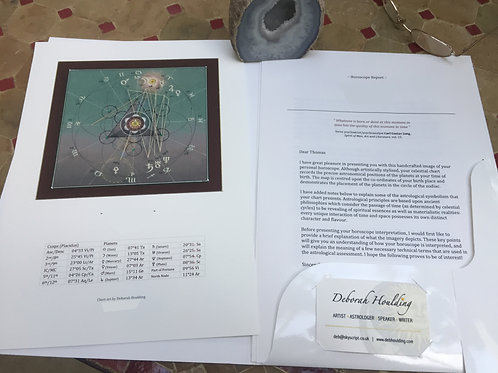 Personalised astrological report