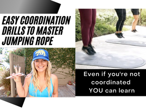 Master your coordination with simple drills jumping rope