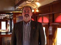 """""""The Napa Valley Wine Train was 100 percent wrong in its handling of this issue,"""" Napa Valley Wine Train CEO Anthony Giaccio."""